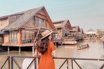 'Cháy túi' tại chợ nổi Bốn Miền Pattaya