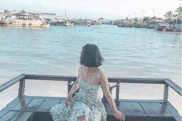 Tìm hiểu văn hóa sông nước Cửu Long ở chợ nổi Cái Bè Tiền Giang