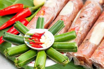 Nem chua – món đặc sản trứ danh của xứ Thanh, ăn một lần nhớ mãi