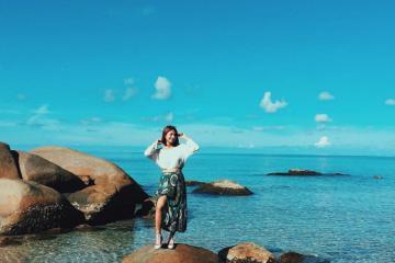 'Lạc trôi' giữa khung cảnh hoang sơ tại đảo Hòn Nghệ, Kiên Giang