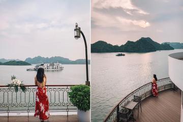 Tour khám phá Hạ Long nghỉ du thuyền Indochine 5* giá từ 2tr3/khách