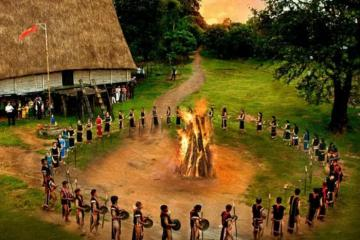 Về Sóc Bom Bo Bình Phước hòa mình cùng bản làng, uống rượu cần