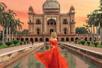 Lăng mộ Safdarjung - công trình kiến trúc độc đáo ở New Delhi