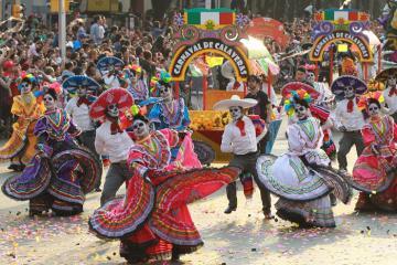 Lễ hội người chết Mexico có thực sự rùng rợn như tên gọi?