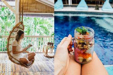 Ăn chơi tại thị trấn nhỏ vẫn giữ được nét quyến rũ địa phương trên đảo Bali