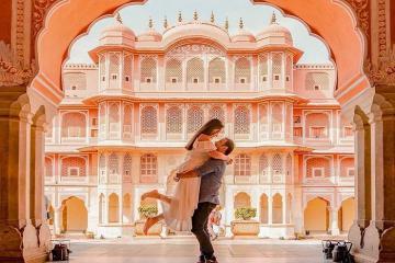 'Quên lối về' trước vẻ đẹp của cung điện Chandra Mahal Ấn Độ