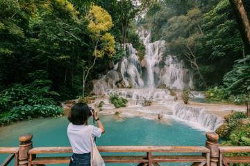 Phải lòng trước vẻ đẹp hùng vĩ của thác nước Kuang Si, Luang Prabang