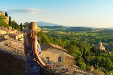 Tận hưởng không khí lãng mạn tại những thị trấn đẹp ở Tuscany