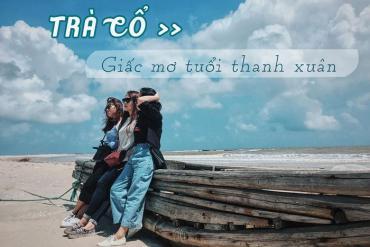 Du lịch biển Trà Cổ Quảng Ninh tắm mát, ăn hải sản 'ngập răng'