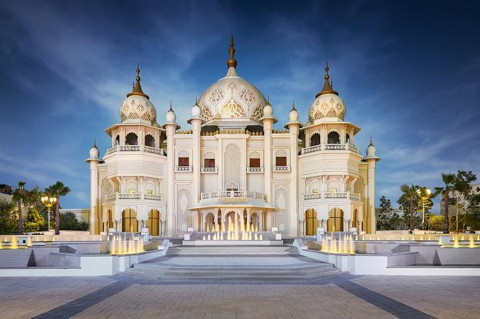 Experience visual splendor like never before at Rajmahal Theater - Bollywood Park Dubai