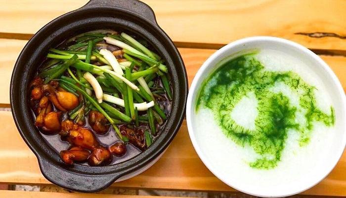 Delicious restaurant in Rach Gia - Lac Hong frog porridge