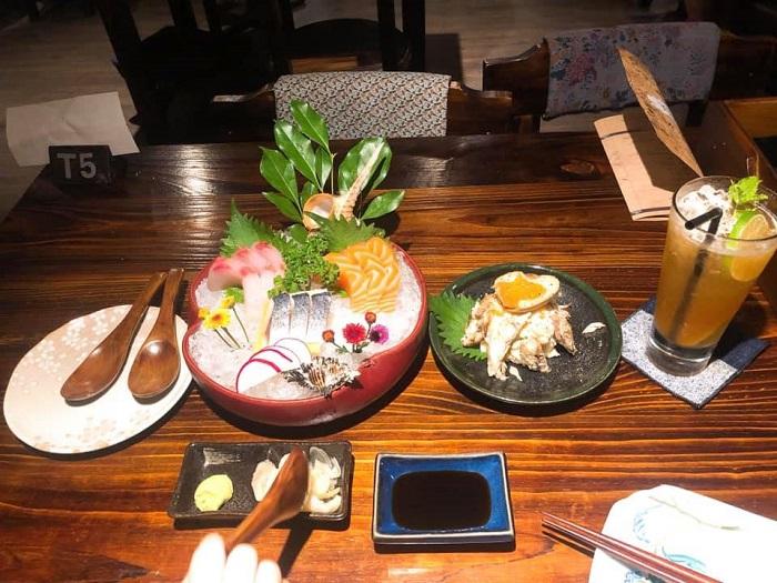delicious restaurant in Rach Gia - Sakura