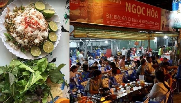 Delicious restaurant in Rach Gia - Ngoc Hoa Quan
