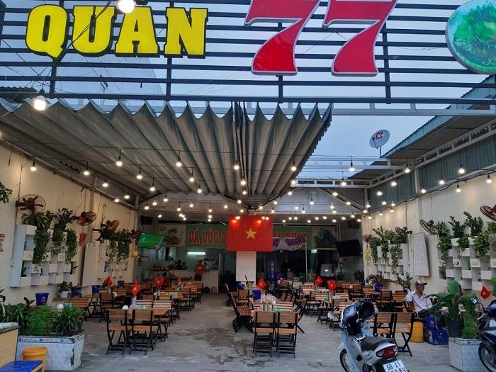 delicious restaurant in Rach Gia - snail shop 77