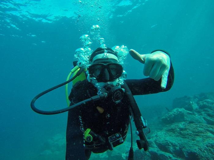 Đi lặn với bình dưỡng khí - Công viên Quốc gia Abel Tasman