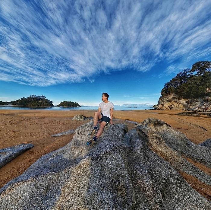 Bãi biển Totaranui - Công viên Quốc gia Abel Tasman