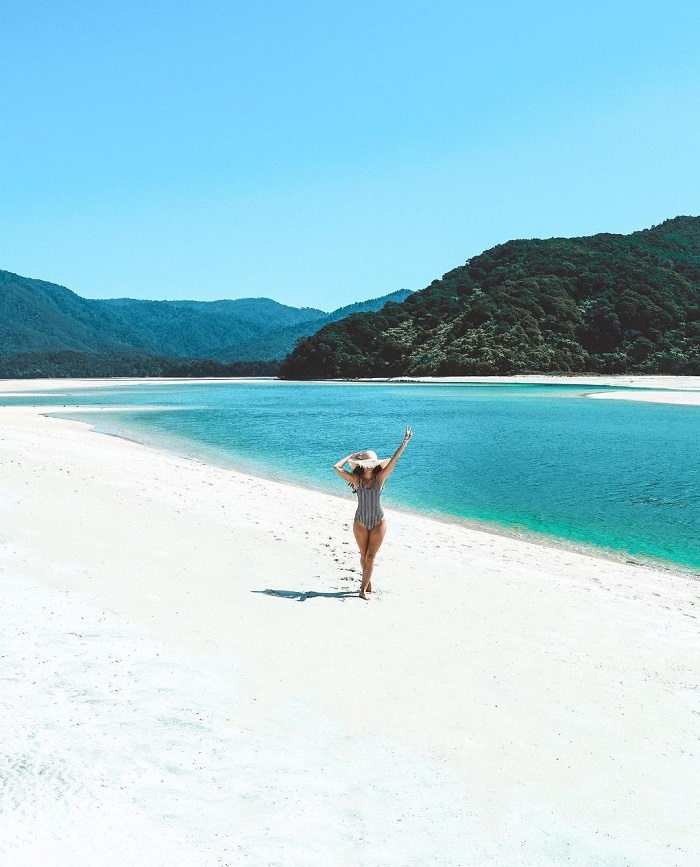 Bãi biển Awaroa Công viên Quốc gia Abel Tasman