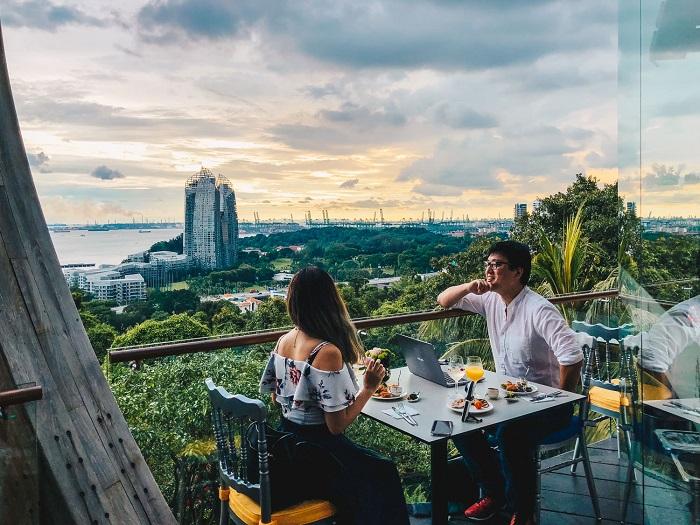 Faber Bistro Restaurant - Mount Faber Park Singapore