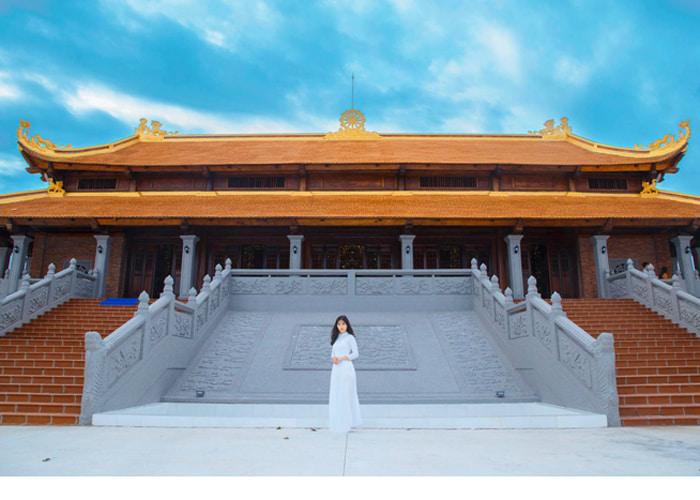 Thiền Viện Trúc Lâm Hậu Giang - quần thể công trình tôn giáo quy mô và ấn tượng