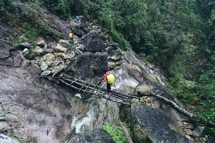 Đây là một cung đường trekking đầy gian nan - Chinh phục Nam Kang Ho Tao