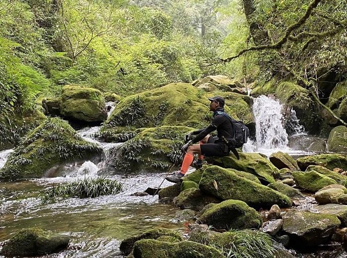 Con suối nước trong vắt và khung cảnh thơ mộng của núi rừng - Chinh phục Nam Kang Ho Tao