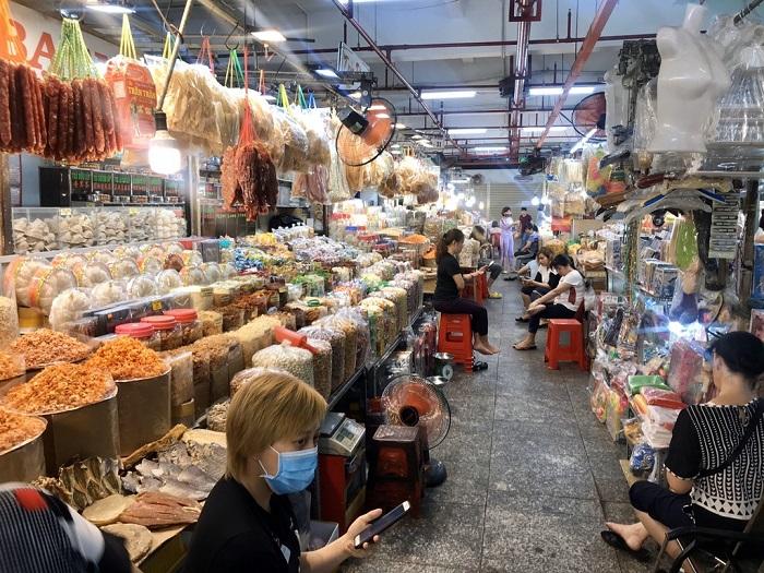 chợ nổi tiếng ở Sài Gòn- chợ An Đông