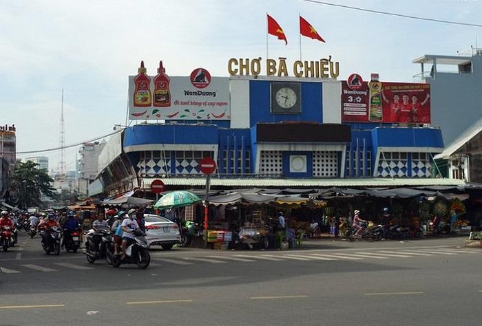 chợ nổi tiếng ở Sài Gòn- chợ Bà Chiểu