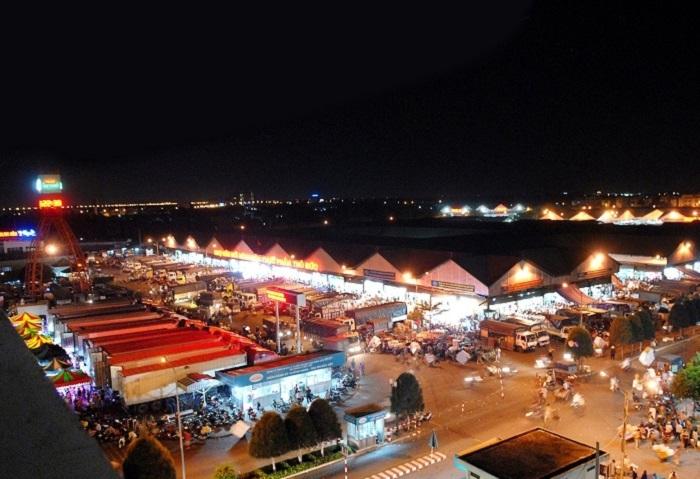 chợ nổi tiếng ở Sài Gòn- chợ Thủ Đức