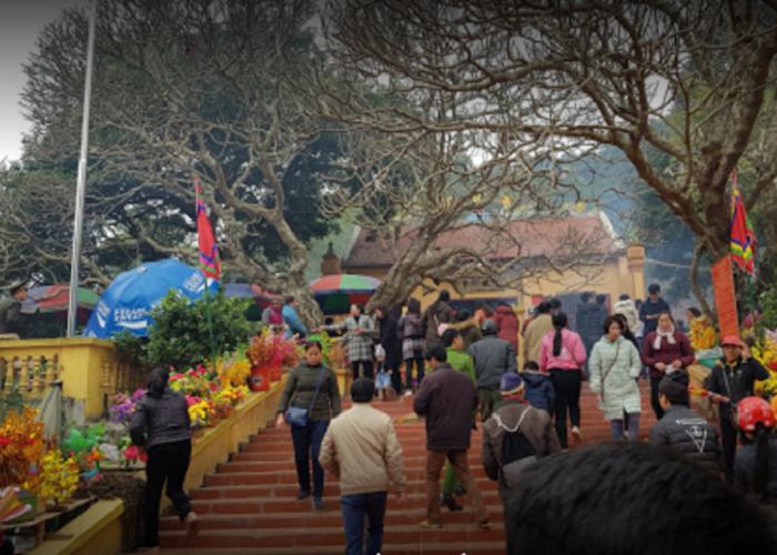 Bac Nga Temple Lang Son - festival
