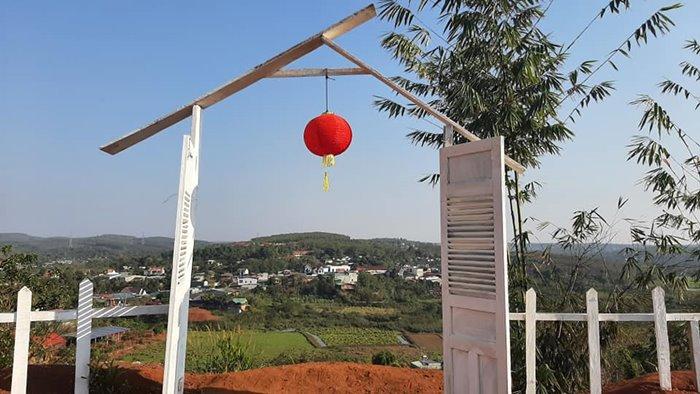 cảnh sắc  chùa Hoa Khai ở đắk Nông