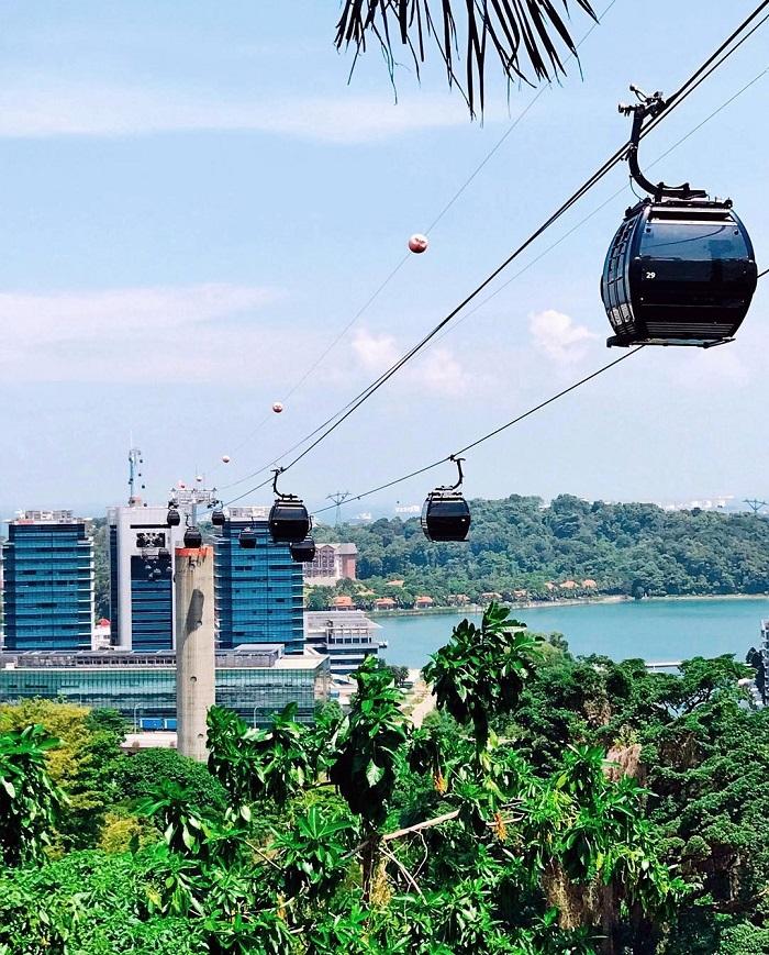 Faber Mount Park Cable Car - Mount Faber Park Singapore