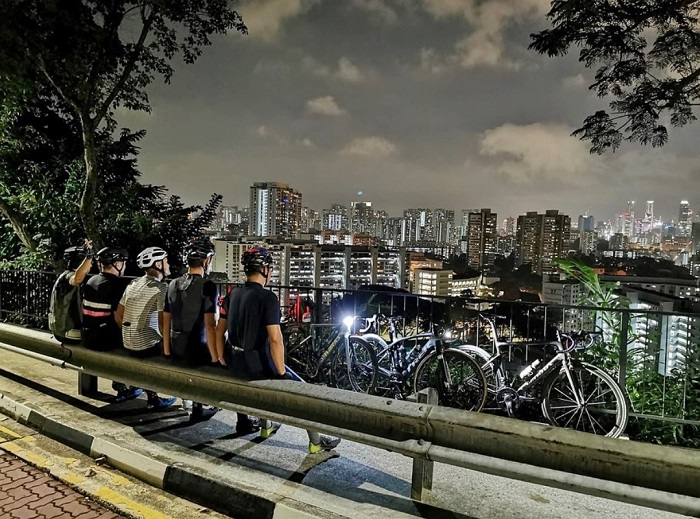 The park is a place for nature and sports lovers - Mount Faber Park Singapore