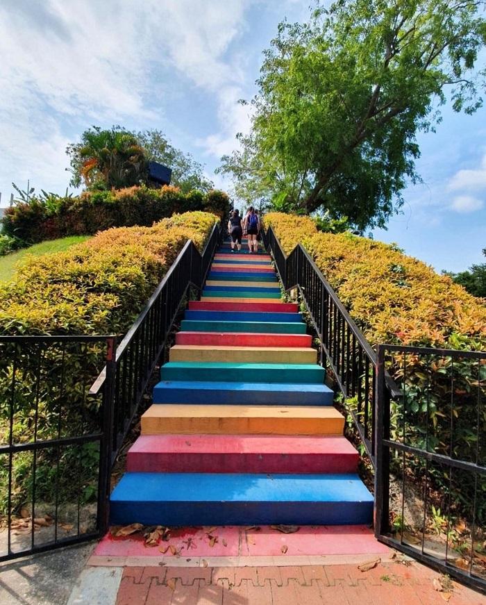 Rainbow Staircase - Mount Faber Park Singapore