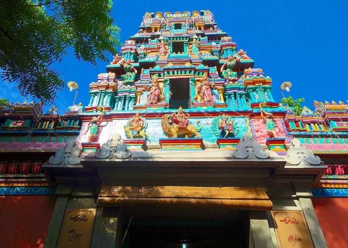 đền Mariamman Sài Gòn - tham quan