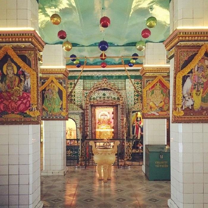 đền Mariamman Sài Gòn - kiến trúc độc đáo
