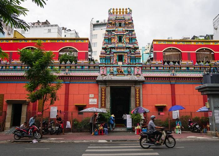 đền Mariamman Sài Gòn - ở đâu