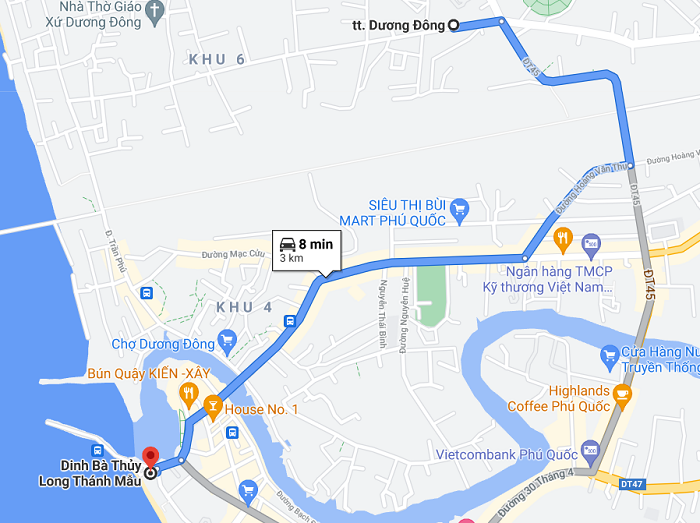 Dinh Ba Phu Quoc - how to get there