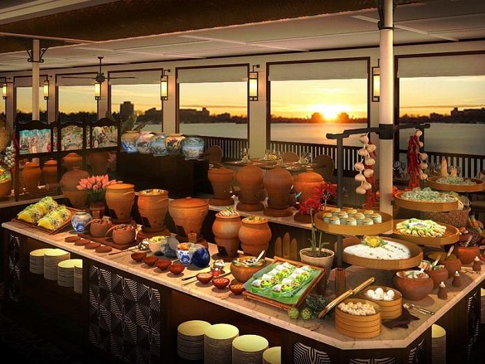 du thuyền ăn tối trên sông Sài Gòn - Du thuyền Đông Dương