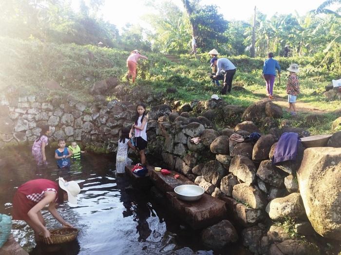 giếng cổ Gio An Quảng Trị - phục vụ nhu cầu sinh hoạt của người dân