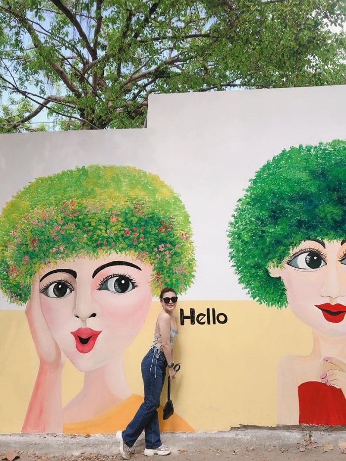 About Vung Tau mural painting alley