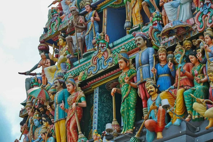 Architecture of Sri Mariamman Temple -