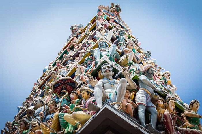 Sri Mariamman Temple's impressive Gopuram is a reason to visit it - Sri Mariamman Temple