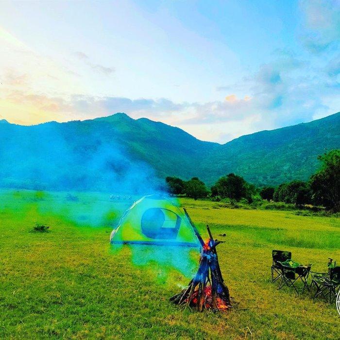 Camping at Am Chua Lake Nha Trang