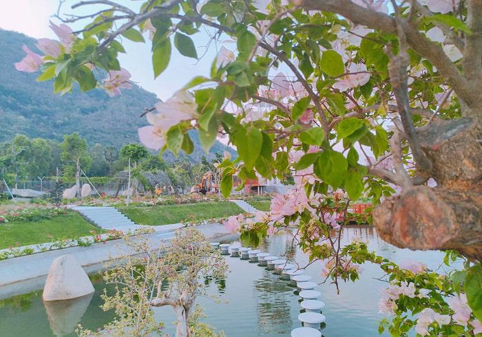 Check in khu du lịch điện mặt trời An Hảo - Hồ Thiên Cảnh