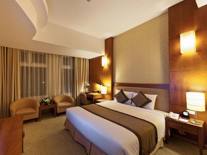 khách sạn ở Lạng Sơn - khách sạn Mường Thanh Lạng Sơn phòng nghỉ
