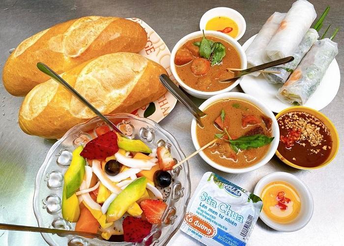 khu ẩm thực ở Sài Gòn - hẻm 177 Lý Tự Trọng