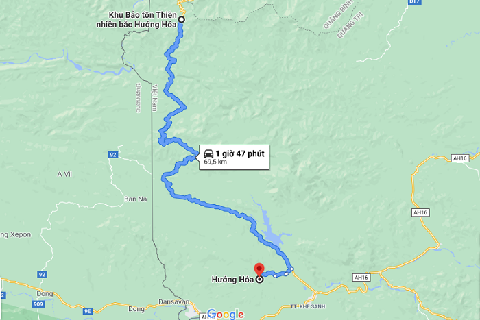 Bac Huong Hoa Nature Reserve - how to get there