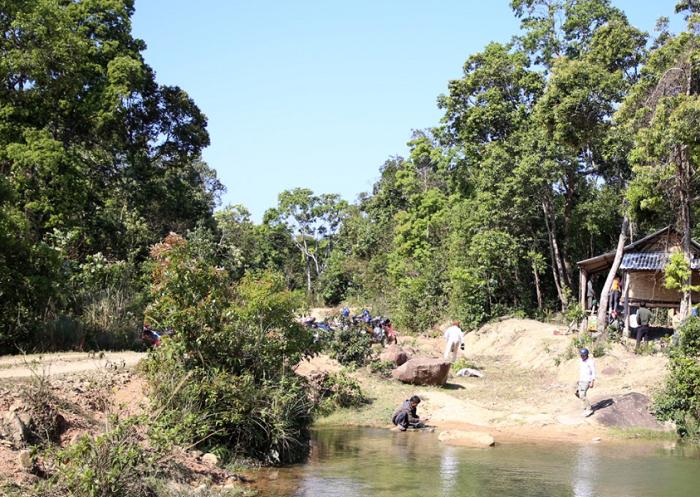 Bac Huong Hoa Nature Reserve - where?