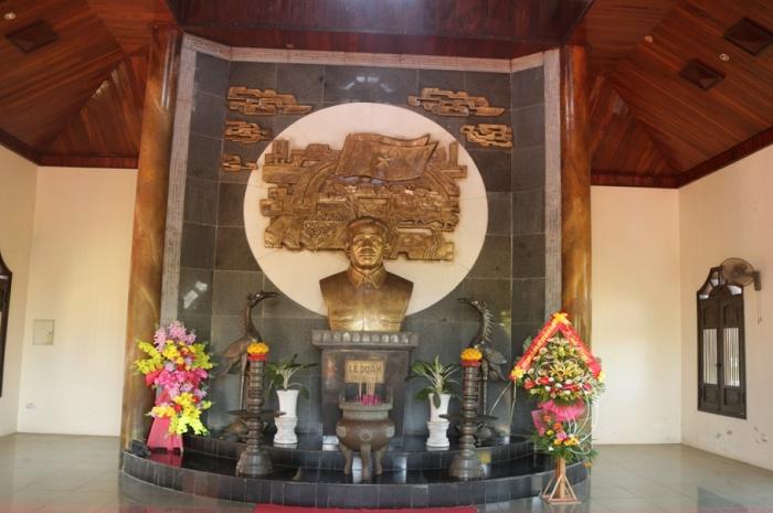 Khu di tích Tổng bí thư Lê Duẩn - khu tưởng niệm