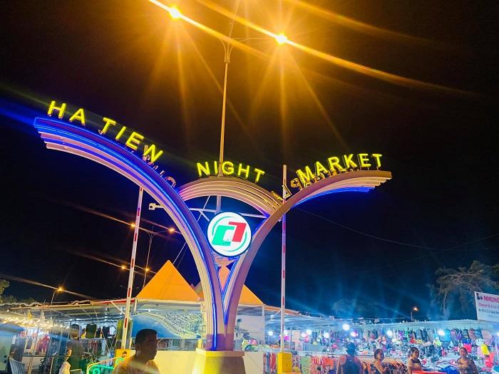 Kien Giang travel experience - Ha Tien night market